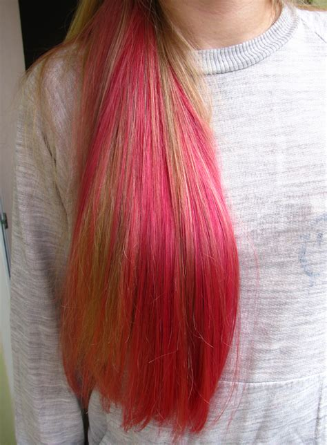 Hair Dye by Hair Dye Images Blond With Pink Hd Wallpaper And