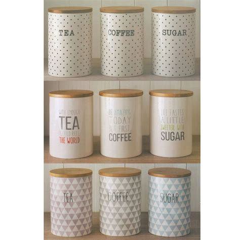 Coffee Kitchen Canisters by Best 25 Tea Coffee Sugar Canisters Ideas On