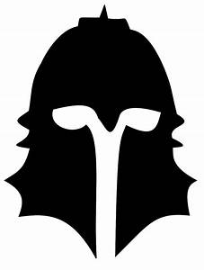 Dragon Age Inquisitor Helmet Silhouette by KiraAkumachi on ...