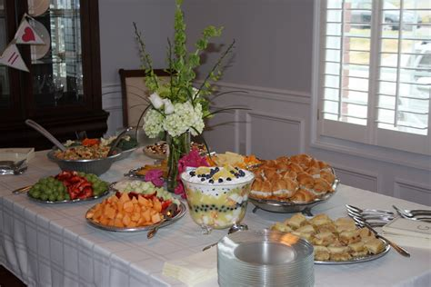 wedding shower food the kitchen ette bridal shower food ideas