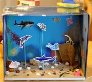 Ocean Habitat Diorama Project