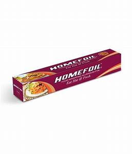 Homefoil Aluminium Foil Food Wrapping Foil Jumbo Weight Of ...