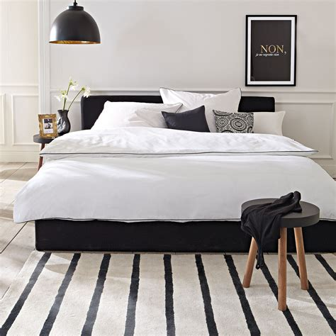 schlafzimmer ideen schwarzes bett schwarzes bett black bed impressionen schlafzimmer