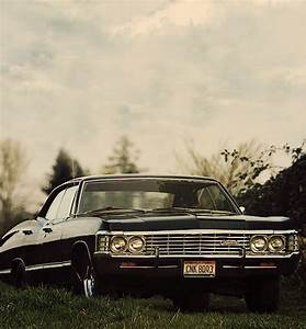 "Dean's ""Baby"" - '67 Impala. Dean is like the coolest ..."