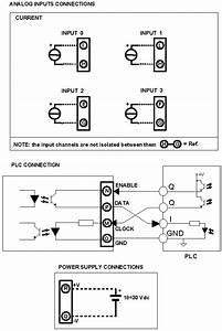 Current To Digital Plc Input Module  Ma Input  Dat6023i