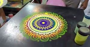 Guy Creates Beautiful Sand Art In Under 60 Seconds