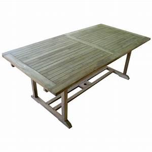 Gartentisch 200 Cm : ausziehbarer teaktisch gartentisch 200 260 x 100 x 75 cm stabil und massiv m bel24 ~ Markanthonyermac.com Haus und Dekorationen