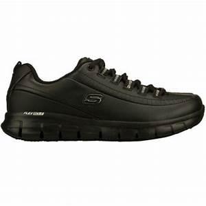 Chaussure De Travail Femme : chaussure de travail noire skechers ~ Dailycaller-alerts.com Idées de Décoration