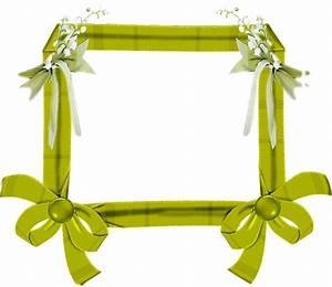 Green Spring Flower Transparent Frame | Gallery ...