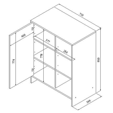 armoire de cuisine en kit symbiosis meuble bas de cuisine 1 porte 3 niches 71 cm