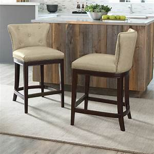 Signature, Design, By, Ashley, Canidelli, Counter, Height, Bar, Stool, -, Set, Of, 2, -, Walmart, Com