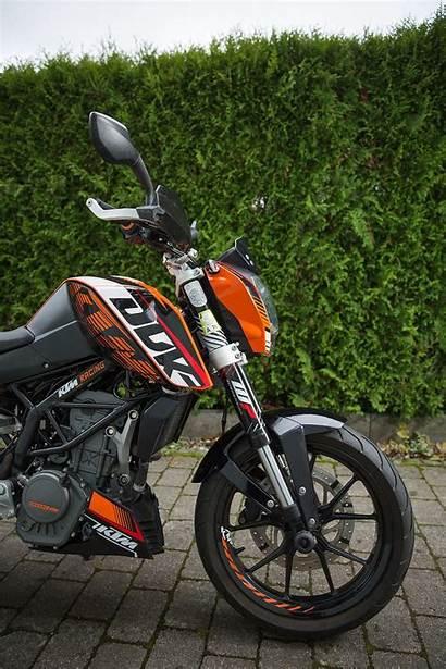 Duke Ktm 125 Wallpapers Orange Phone Motorcycle