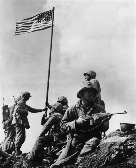 world war ii veterans recount  time  iwo jima