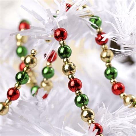 christmas mini beaded garland garlands floral supplies