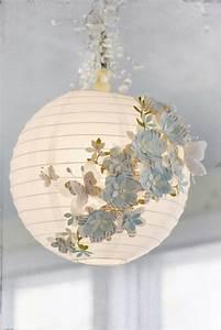 Boule Papier Luminaire : tuto luminaire boule fleurie sur notre blog ~ Teatrodelosmanantiales.com Idées de Décoration