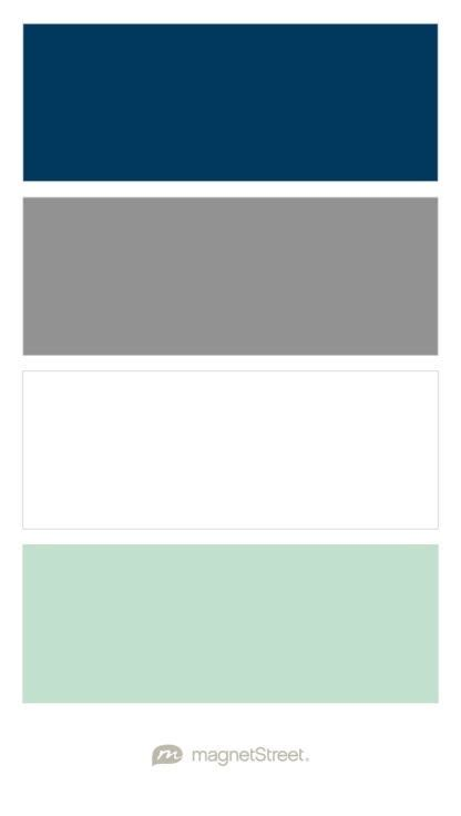 Palette Classic Blue White by Navy Classic Gray White And Celadon Nursery Color
