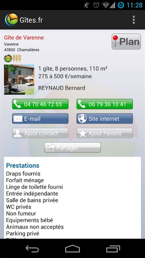 cybevasion chambres d hotes gîtes et chambres d 39 hôtes android apps on play