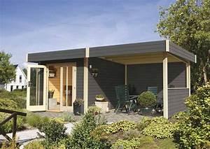 Abri De Jardin Avec Pergola : karibu abri de jardin multi cube 3 en bois avec appentis ~ Dailycaller-alerts.com Idées de Décoration