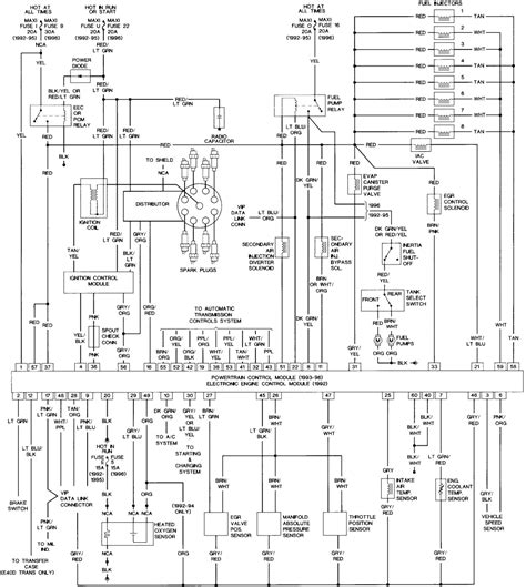 Wiring Diagram 95 Ford E 350 by Where Is Eec Ecm Relay On 91 Aerostar Fixya