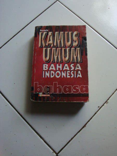 jual kamus umum bahasa indonesia surayin di lapak gemaalami gemaalami