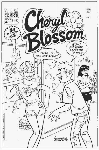 Archie Comic Coloring Dolcett Ausmalbilder Comics Drucken