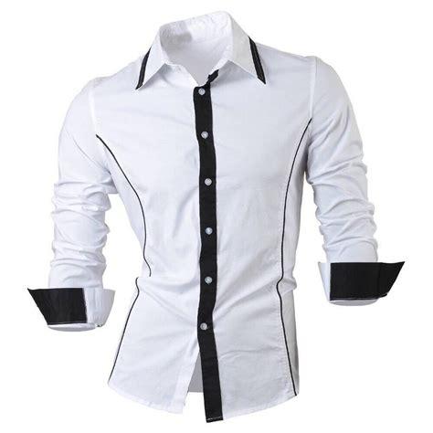 jual alonzo pakaian baju kemeja hem untuk pria cowok lengan panjang bahan katun