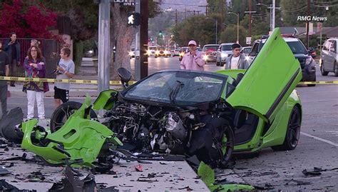 mclaren    involved  heavy crashes