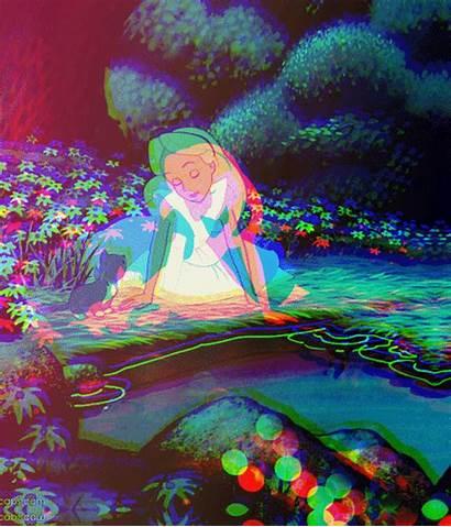 Drugs Alice Trippy Wonderland Psychedelic Trip Lsd