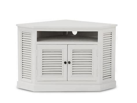 bureau angle blanc meuble tv d 39 angle calcutta 2 portes manguier blanc