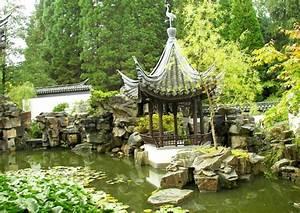 chinesische gartengestaltung mit wasser bachlauf With französischer balkon mit garten und landschaftsbau berlin marzahn