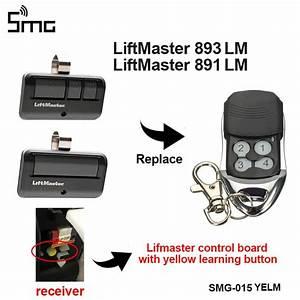 893lm Liftmaster Remote Transmitter Garage Gate Security 2 0
