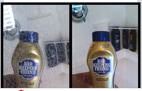 remove water stains from shower glass use bar keepers friend to remove water stains from