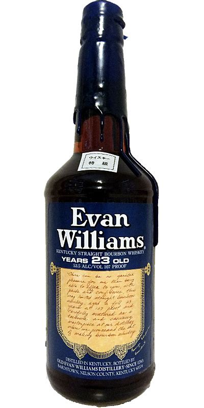 Evan Williams 23-year-old - Ratings and reviews - Whiskybase
