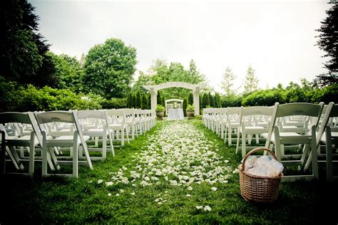 outdoor ceremony enchanting events