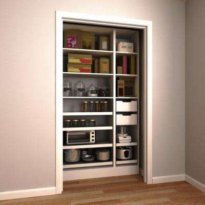 Pantry Shelves Home Depot Pantry Organizers Kitchen Storage Organization The