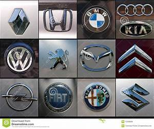 Car Brands Collage Editorial Stock Image - Image: 15306689