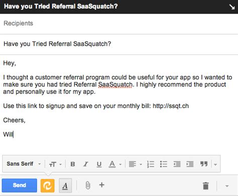 How To Mention Reference In Application Email by Link Support Available For Referrals Made By Email