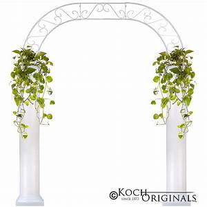 Roman Wedding Arch w/ Two 6' Columns