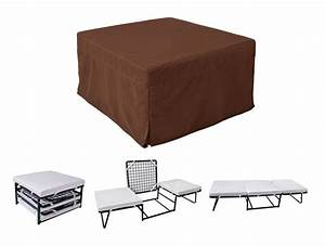 folding convertible sofa bed ottoman couch mattress lounge With ottoman folding bed convertible sofa