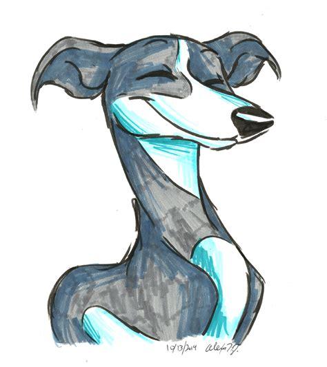 foto de Brush Breeds Italian Greyhound by Stray Sketches on DeviantArt