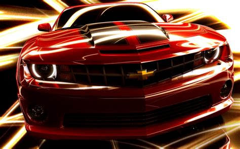 amazing red chevrolet game car  wallpapers hd