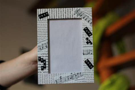 cadre photo musique journal anglais cr 233 ations