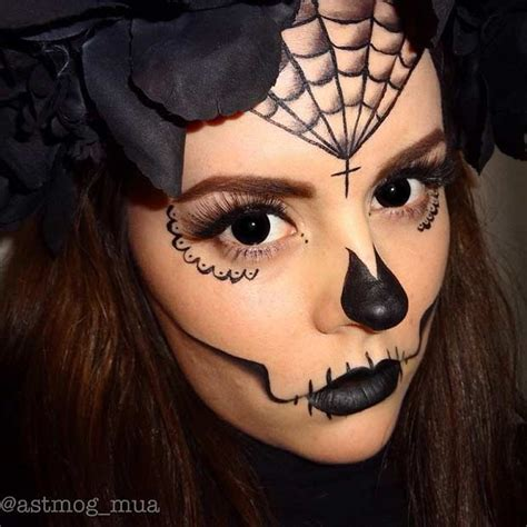 easy diy halloween makeup  page    stayglam