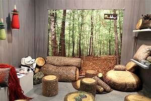 42 idees deco au salon maisonobjet 2013 With maison en tronc d arbre