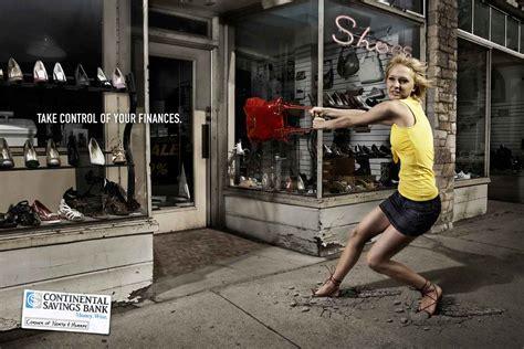 banks brand ads    control