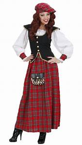Scottish Lady Fancy Dress - Scots Costume | Karnival Costumes