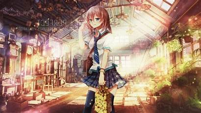 Anime Uniform Arsenixc Characters Pc Wallpapers Background