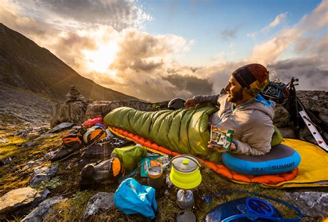Review Sea To Summit Latitude Sleeping Bag  Paddy Pallin