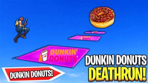 dunkin donuts deathrun fortnite creative fortnite tracker