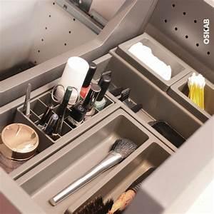 Organisateur Tiroir Salle De Bain : rangement maquillage tiroir de salle de bains hakeo oskab ~ Teatrodelosmanantiales.com Idées de Décoration
